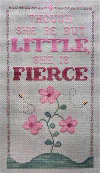 Vintage Needlearts - Little Flower