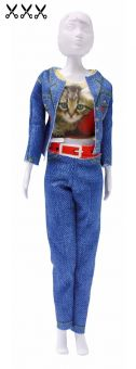 Dress Your Doll - Making Couture - Kleider Set - Kitty Cat