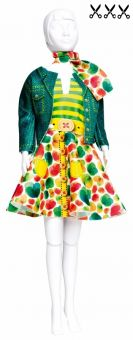 Dress Your Doll - Making Couture - Kleider Set - Lucy Green