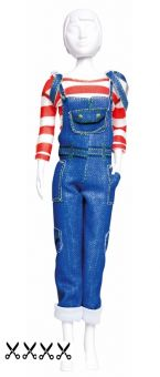 Dress Your Doll - Making Couture - Kleider Set - Tilly Jeans
