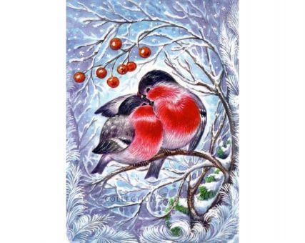 Diamond Embroidery/ Diamond Painting - Bullfinches
