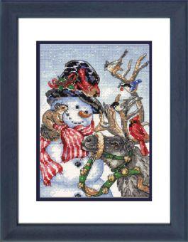 Dimensions Gold Petites - Snowman & Reindeer