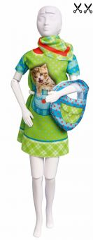 Dress Your Doll - Making Couture - Kleider Set - Twiggy Kitten