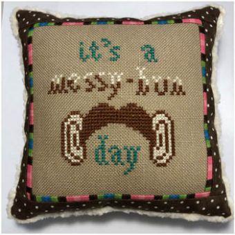 Bendy Stitchy Designs - Messy Bun Day