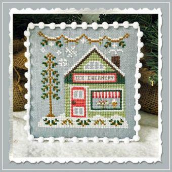 Country Cottage Needleworks -  Snow Village 9 - Ice Creamery