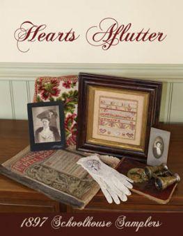 1897 Schoolhouse Samplers - Hearts Aflutter