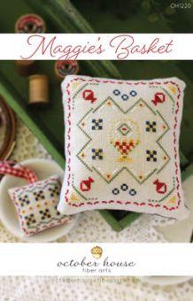 October House Fiber Arts - Maggie's Basket