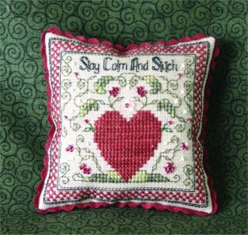Sweetheart Tree - Stay Calm And Stitch