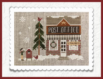 Little House Needleworks - Hometown Holiday - Post Office