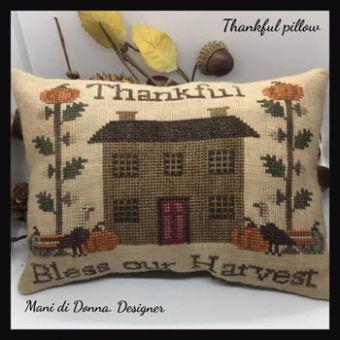 Mani Di Donna - Thankful Pillow