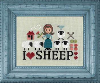 Jardin Prive' - I Love Sheep