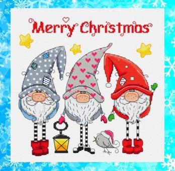 Les Petites Croix De Lucie - Gnomes De Noel (Christmas Gnomes)