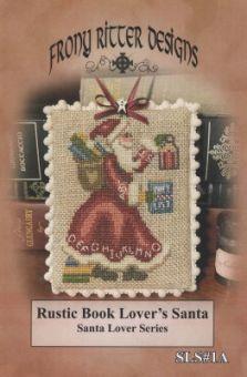 Frony Ritter Designs - Rustic Book Lover's Santa