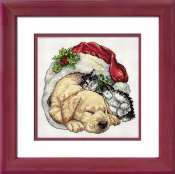 Dimensions Gold Petites - Christmas Morning Pets