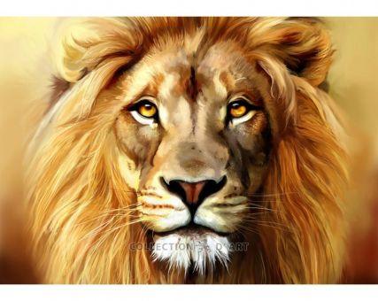 Diamond Embroidery/ Diamond Painting - Lion