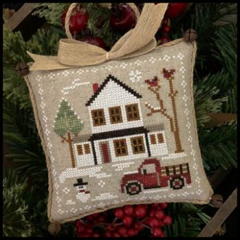 Little House Needleworks - Farmhouse Christmas 3 - Grandpa's Pick-Up