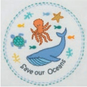 Super SALE Anchor Embroidery Freestyle -  Save Our Seas