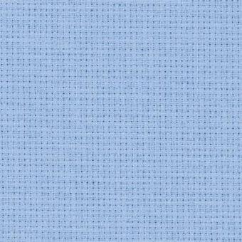 Zweigart - 14ct Aida hellblau Meterware 1 Meter