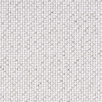 14ct Aida weiß-silberlurex