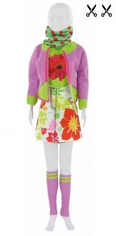 Dress Your Doll - Making Couture - Kleider Set - Candy Flower