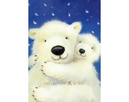 Diamond Embroidery/ Diamond Painting - White bears
