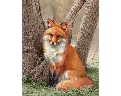 Diamond Embroidery/ Diamond Painting - Fox
