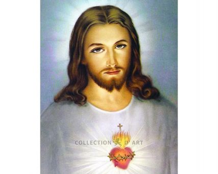 Diamond Embroidery/ Diamond Painting - Heart of Jesus
