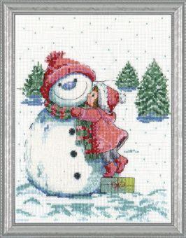 Design Works Crafts - Red Hat Snowman