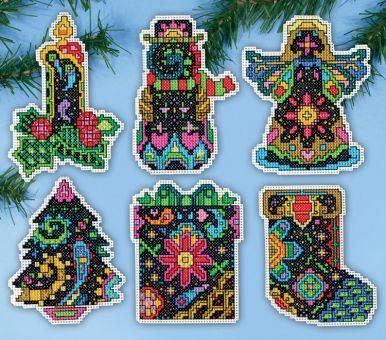 Design Works - Christmas Fantasy Ornaments