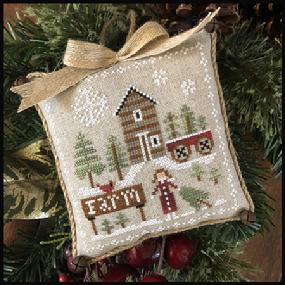 Little House Needleworks - Farmhouse Christmas 6 - Pinewood Farm