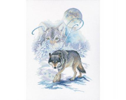 """RTO - Cross-stitch kits """"Wolf"""""""