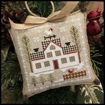 Little House Needleworks - Farmhouse Christmas 7 - Cock-a-doodle-do