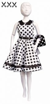 Dress Your Doll - Making Couture - Kleider Set - Peggy Dots