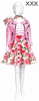 Dress Your Doll - Making Couture - Kleider Set - Lucy Roses