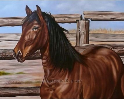 Diamond Embroidery/ Diamond Painting - Mustang