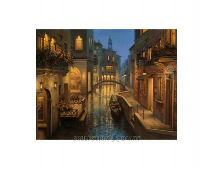 Diamond Embroidery/ Diamond Painting -  Warm evening in Venice