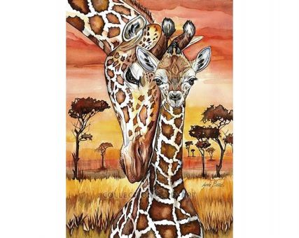 Diamond Embroidery/ Diamond Painting - Giraffes