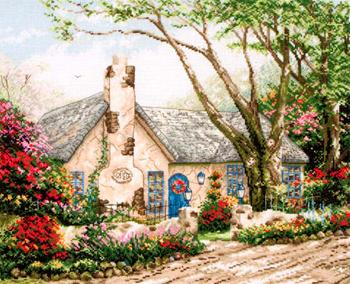 Super SALE Anchor Maia - Morning Glory Cottage - Thomas Kinkade