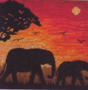 Super SALE Anchor Maia - Elephant Silhouette