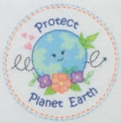 Super SALE Anchor Embroidery Freestyle -  Love Earth