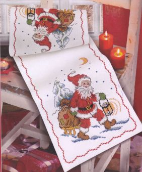 Anchor - Santa And Sledge Runner
