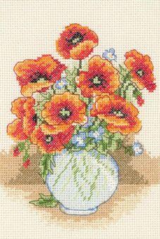 Anchor - Poppy Vase