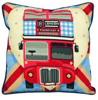 Anchor Living-TAP Red Bus on Union Jack