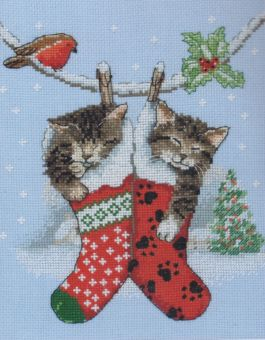 Anchor - Christmas Kittens