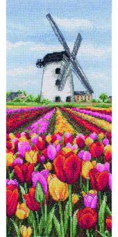 Anchor Cross Stitch - Dutch Tulips