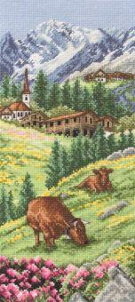 Anchor - Swiss Alpine landscape