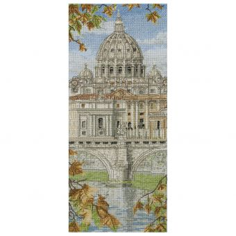 Anchor Cross Stitch -St Peters Basilica