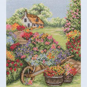 Anchor - Floral Wheelbarrow