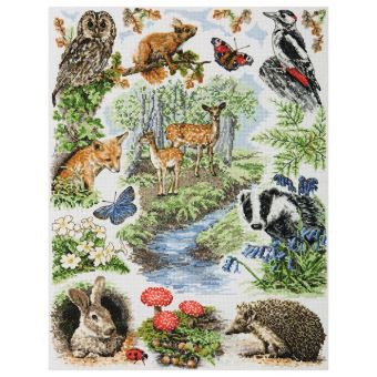 Super SALE Anchor - Woodland Sampler