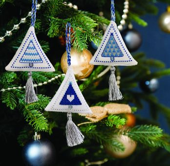 Super SALE Anchor - Festive Tree Decoration Ice Blue